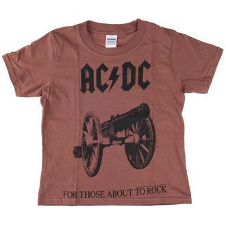 metál póló férfi gyermek AC-DC - For Those About To Rock - LOW FREQUENCY, LOW FREQUENCY, AC-DC