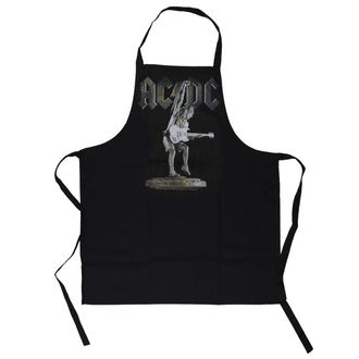 AC / DC kötény  - Stiff Upper Lip Apron - LOW FREQUENCY, LOW FREQUENCY, AC-DC