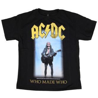 metál póló férfi gyermek AC-DC - Who Made Who - LOW FREQUENCY, LOW FREQUENCY, AC-DC