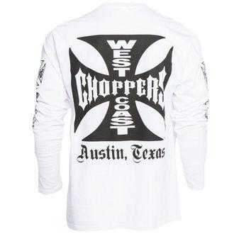 póló férfi - WCC OG CROSS LONG SLEEVE - West Coast Choppers, West Coast Choppers