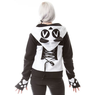 kapucnis pulóver női - KP SPLIT UP - KILLER PANDA, KILLER PANDA