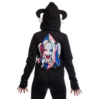 kapucnis pulóver női Suicide Squad - HARLEY REBEL -