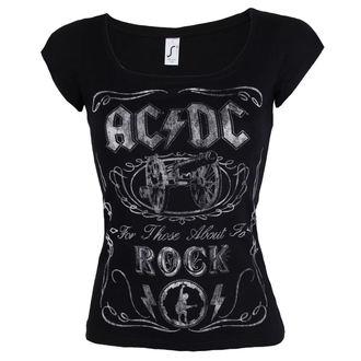 metál póló női AC-DC - Canon Swig - ROCK OFF, ROCK OFF, AC-DC
