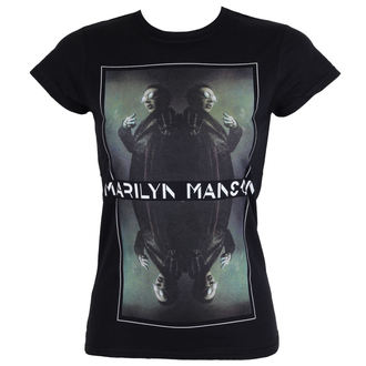 metál póló női Marilyn Manson - Mirrored - ROCK OFF, ROCK OFF, Marilyn Manson