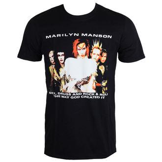 metál póló férfi Marilyn Manson - Rock Is Dead - ROCK OFF, ROCK OFF, Marilyn Manson