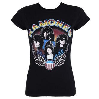 metál póló női Ramones - Vintage Wings - ROCK OFF, ROCK OFF, Ramones