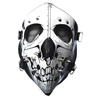 POIZEN INDUSTRIES maszk - SKULL FACE - FEKETE, POIZEN INDUSTRIES