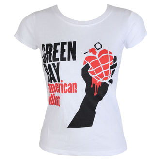 metál póló női Green Day - American Idiot - ROCK OFF, ROCK OFF, Green Day
