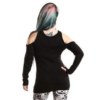 Heartless női pulóver - HYPNONE BLACK, HEARTLESS