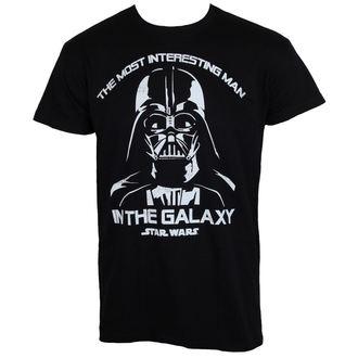 Star Wars férfi póló - The Most Interesting Man In The Galaxy - Fekete - HYBRIS, HYBRIS, Star Wars
