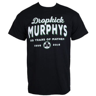 metál póló férfi Dropkick Murphys - 20 Years - KINGS ROAD, KINGS ROAD, Dropkick Murphys