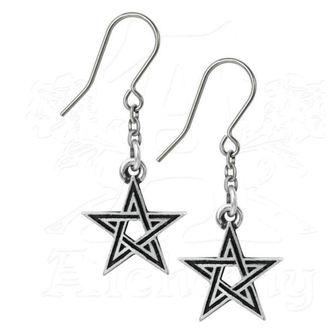 ALCHEMY GOTHIC fülbevaló - Black Star