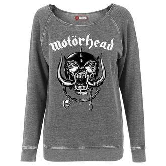 pulóver (kapucni nélkül) férfi női Motörhead - Logo Burnout Open Edge - URBAN CLASSICS, URBAN CLASSICS, Motörhead