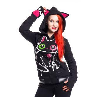 kapucnis pulóver női - KITTY MASE - CUPCAKE CULT, CUPCAKE CULT