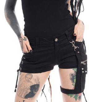 Vixxsin női rövidnadrág - NAOKO - FEKETE, VIXXSIN