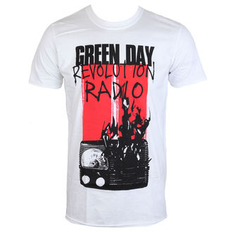 metál póló férfi Green Day - RADIO COMBUSTION - PLASTIC HEAD, PLASTIC HEAD, Green Day