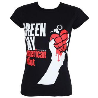 metál póló női Green Day - AMERICAN IDIOT - PLASTIC HEAD, PLASTIC HEAD, Green Day