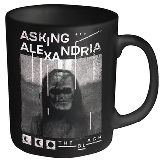 ASKING ALEXANDRIA bögre - THE BLACK - PLASTIC HEAD, PLASTIC HEAD, Asking Alexandria