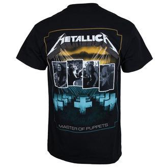 metál póló férfi Metallica - Master of Puppets Blue Poster -, Metallica