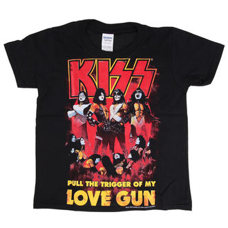 metál póló férfi gyermek Kiss - Love Gun - LOW FREQUENCY, LOW FREQUENCY, Kiss
