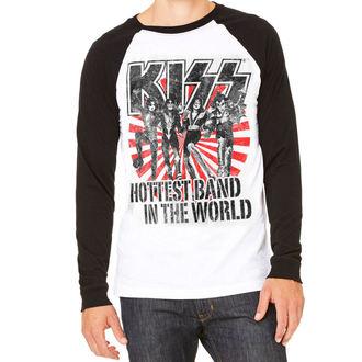 metál póló férfi Kiss - Hottest Band In The World - HYBRIS, HYBRIS, Kiss