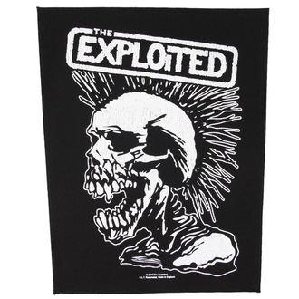 THE EXPLOITED felvarró - VINTAGE SKULL - RAZAMATAZ, RAZAMATAZ, Exploited
