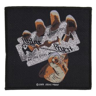 JUDAS PRIEST felvarró - BRITISH STEEL - RAZAMATAZ, RAZAMATAZ, Judas Priest