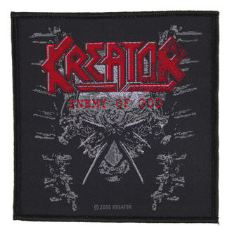 KREATOR felvarró - ENEMY OF GOD - RAZAMATAZ, RAZAMATAZ, Kreator