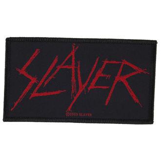 SLAYER felvarró - SCRATCHED LOGO - RAZAMATAZ, RAZAMATAZ, Slayer