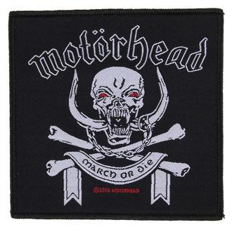 Motörhead felvarró - March ör Die - RAZAMATAZ, RAZAMATAZ, Motörhead