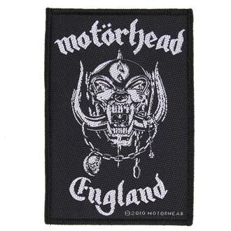 Motörhead felvarró - ENGLAND - RAZAMATAZ, RAZAMATAZ, Motörhead