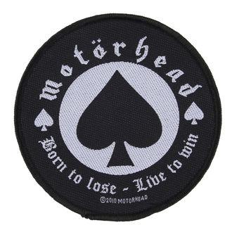 Motörhead felvarró - BORN TO LOSE - RAZAMATAZ, RAZAMATAZ, Motörhead
