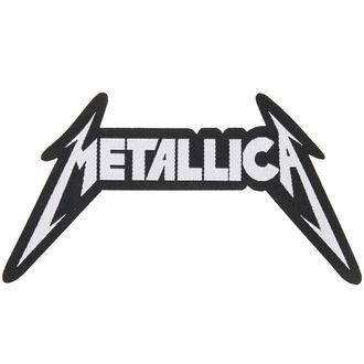 METALLICA felvarró - SHAPED LOGO - RAZAMATAZ, RAZAMATAZ, Metallica