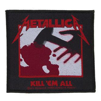 Metallica felvarró - Kill 'Em All - RAZAMATAZ, RAZAMATAZ, Metallica