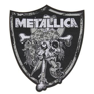 METALLICA felvarró - RAIDERS SKULL - RAZAMATAZ, RAZAMATAZ, Metallica