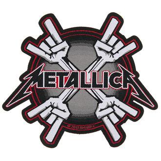 METALLICA felvarró - METAL HORNS - RAZAMATAZ, RAZAMATAZ, Metallica
