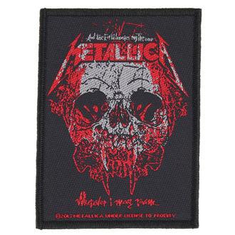 METALLICA felvarró - WHEREVER I MAY ROAM - RAZAMATAZ, RAZAMATAZ, Metallica