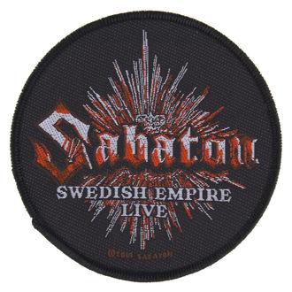 SABATON felvarró - SWEDISH EMPIRE LIVE - RAZAMATAZ, RAZAMATAZ, Sabaton