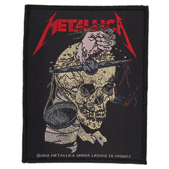 METALLICA felvarró - HARVESTER OF SORROW - RAZAMATAZ, RAZAMATAZ, Metallica
