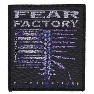 FEAR FACTORY felvarró - DEMANUFACTURE - RAZAMATAZ, RAZAMATAZ, Fear Factory