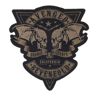 AVENGED SEVENFOLD felvarró - ORANGE COUNTY CUT OUT - RAZAMATAZ, RAZAMATAZ, Avenged Sevenfold
