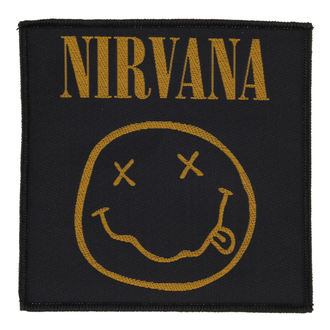 NIRVANA felvarró - SMILEY - RAZAMATAZ, RAZAMATAZ, Nirvana