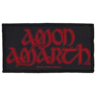 felvarró AMON AMARTH - RED LOGO - RAZAMATAZ, RAZAMATAZ, Amon Amarth