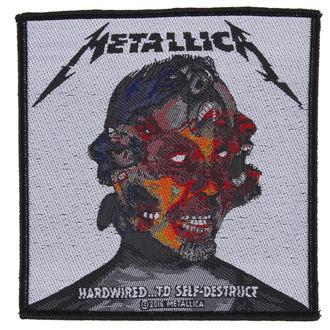 felvarró METALLICA - HARDWIRED TO SELF DESTRUCT - RAZAMATAZ, RAZAMATAZ, Metallica