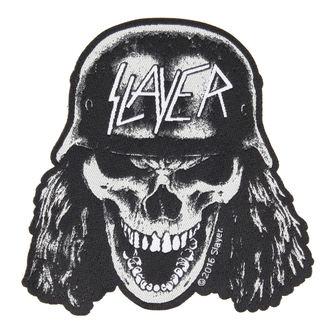 felvarró SLAYER - VVEHRMACHT SKULL CUT OUT - RAZAMATAZ, RAZAMATAZ, Slayer