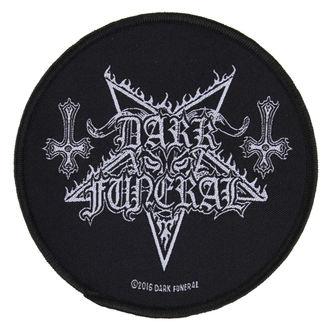felvarró DARK FUNERAL - CIRCULAR LOGO - RAZAMATAZ, RAZAMATAZ, Dark Funeral