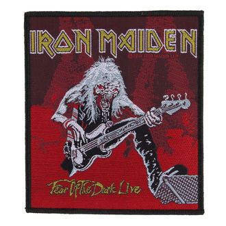 felvarró IRON MAIDEN - FEAR OF THE DARK LIVE - RAZAMATAZ, RAZAMATAZ, Iron Maiden