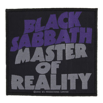 felvarró BLACK SABBATH - MASTER OF REALITY - RAZAMATAZ, RAZAMATAZ, Black Sabbath