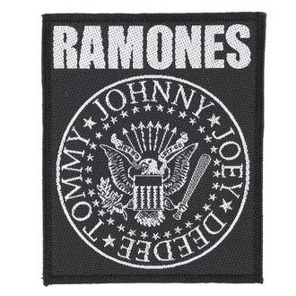 felvarró RAMONES - CLASSIC SEAL - RAZAMATAZ, RAZAMATAZ, Ramones