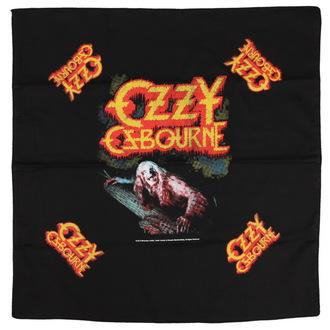 OZZY OSBOURNE kendő - BARK AT THE MOON - RAZAMATAZ, RAZAMATAZ, Ozzy Osbourne